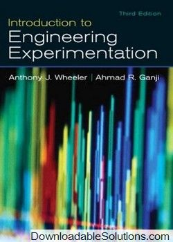 Introduction To Engineering Experimentation 3rd Edition By Wheeler