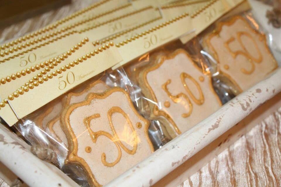 50 Aniversario | 2anys | Galletas, Galletas decoradas y ...
