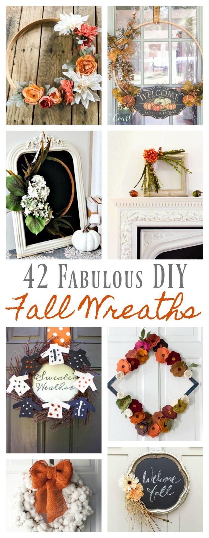 Photo of 42 DIY Fall Wreath Ideas – 2 Bees in a Pod