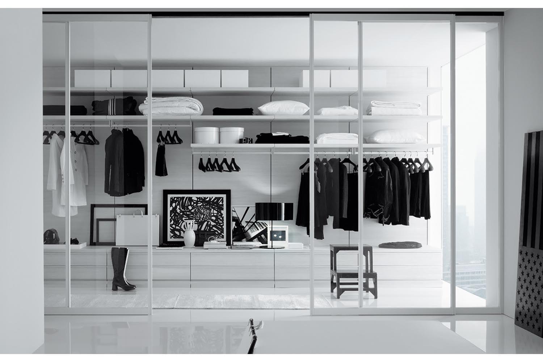 Ubik Walk-In Closet by CR&S Poliform for Poliform