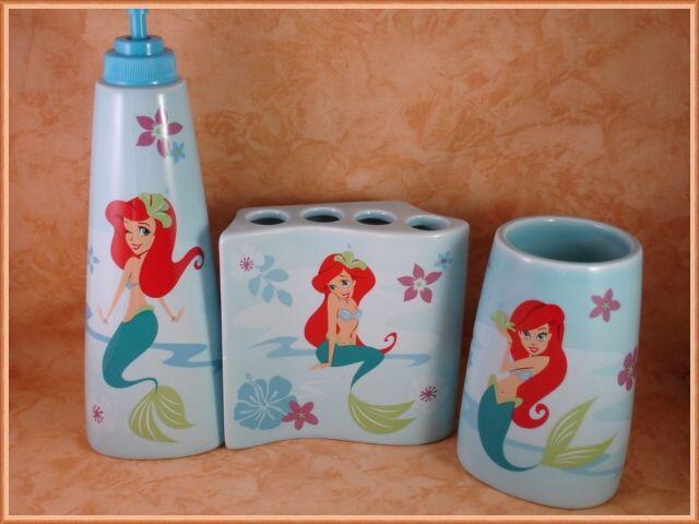 Mermaid Bathroom Decor, Little Mermaid Bathroom Accessories