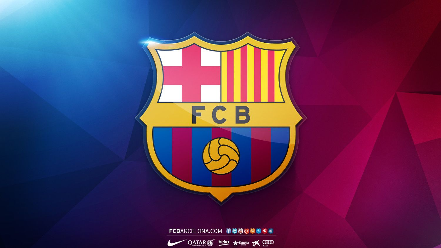 Fondos De Pantalla Del Fútbol Club Barcelona Wallpapers: Escudo FCB - Wallpapers ROBERTO MELGAR