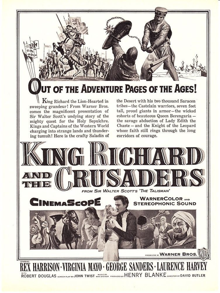 Download King Richard and the Crusaders Full-Movie Free