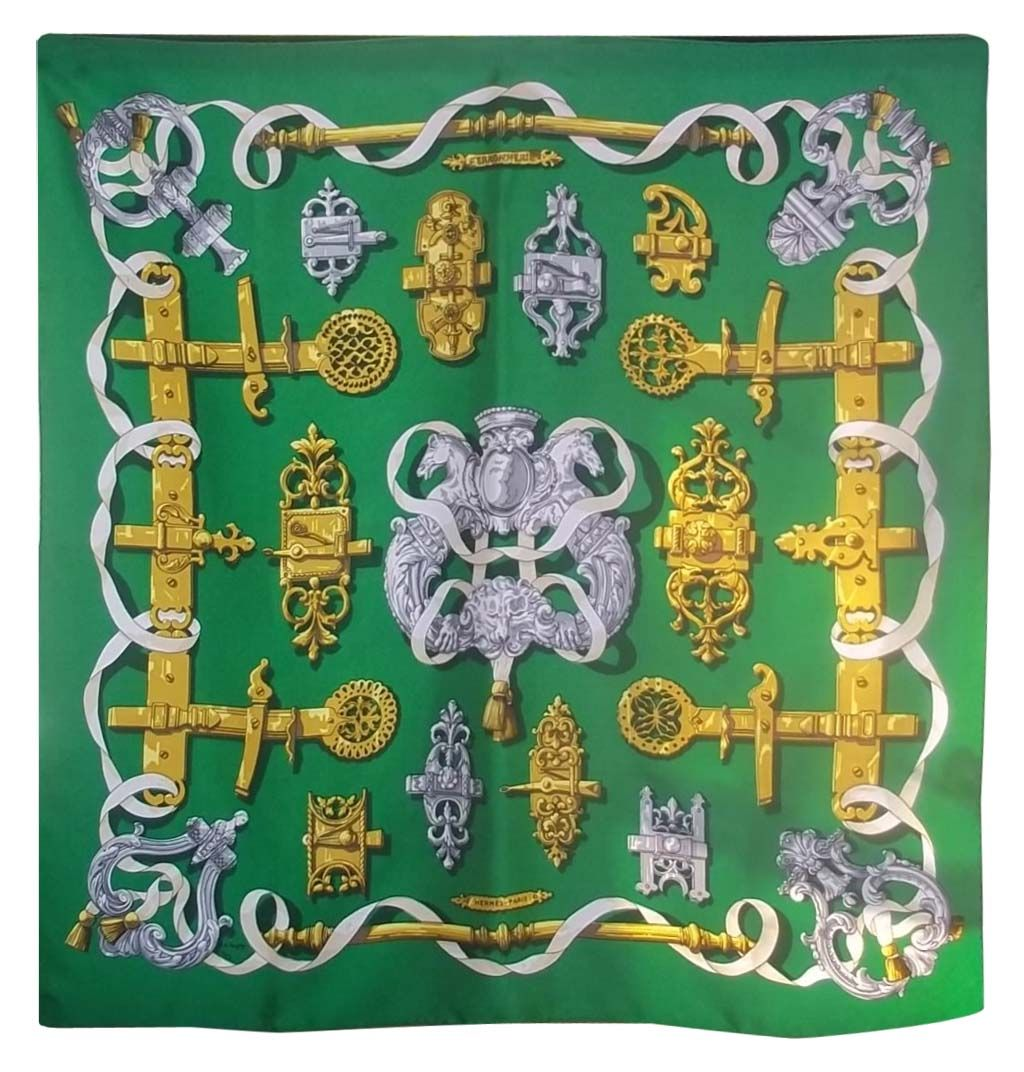 My dream is to own a Hermes scarf . I probably would frame it!