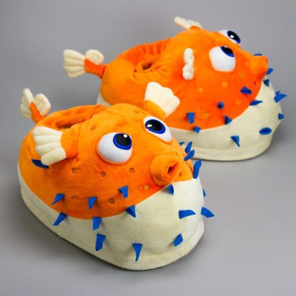 How Can You Live Your Life Without Giant Pufferfish Slippers?