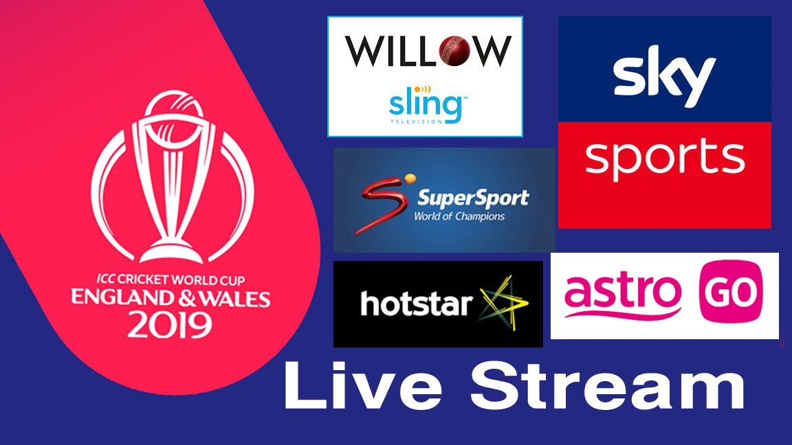 Icc Cricket World Cup 2019 Live Streaming Broadcasting