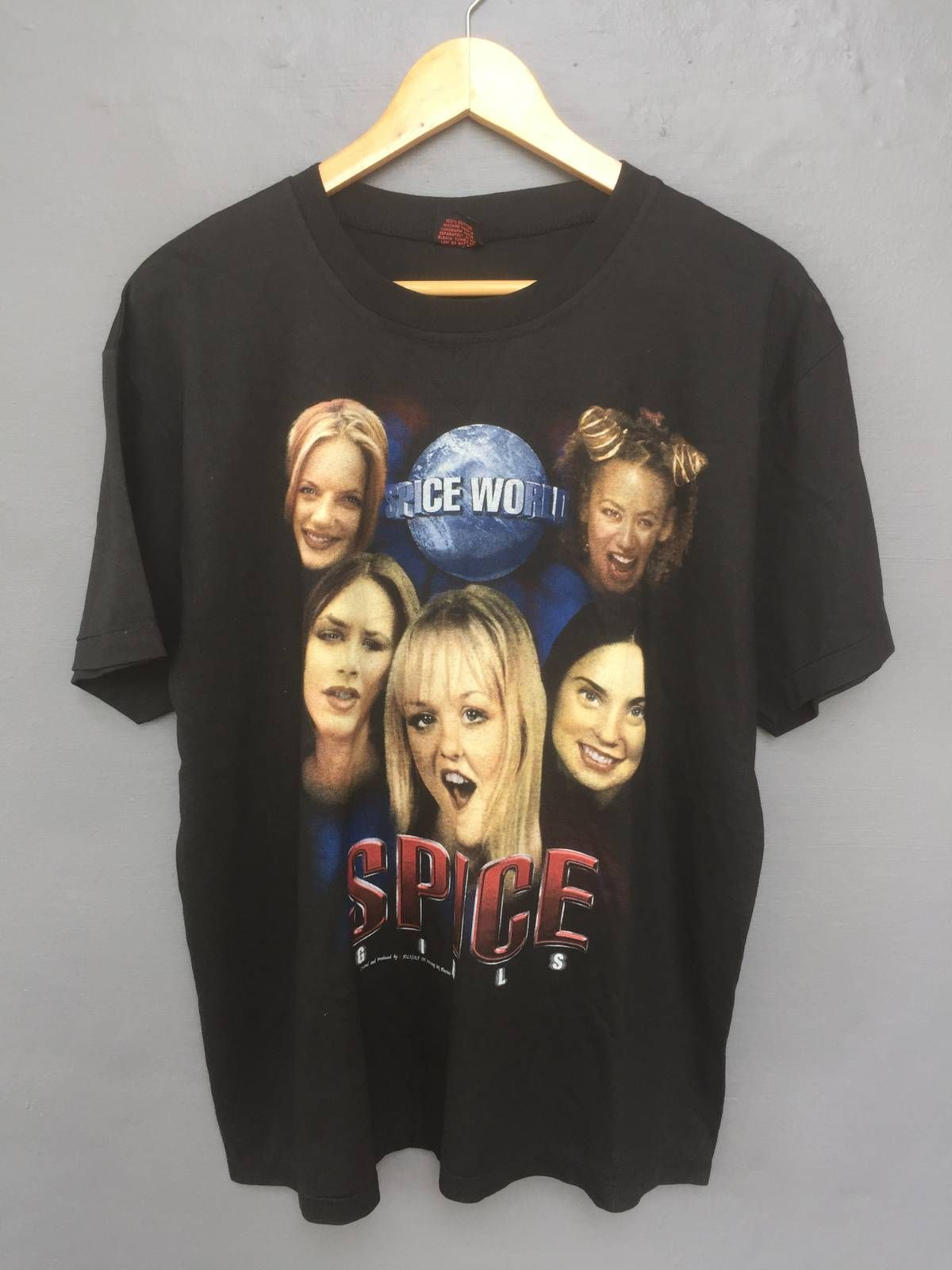 Vintage Spice Girls Shirt 90s Single Stitch Made In Canada Size S Good condition