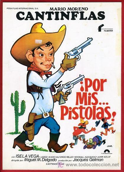 Por Mis Pistolas | Mario Moreno - Cantinflas | DVDRip