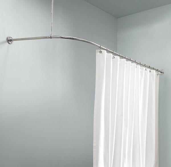 Corner Shower Curtain Rod Ikea Round Shower Curtain Rod Shower
