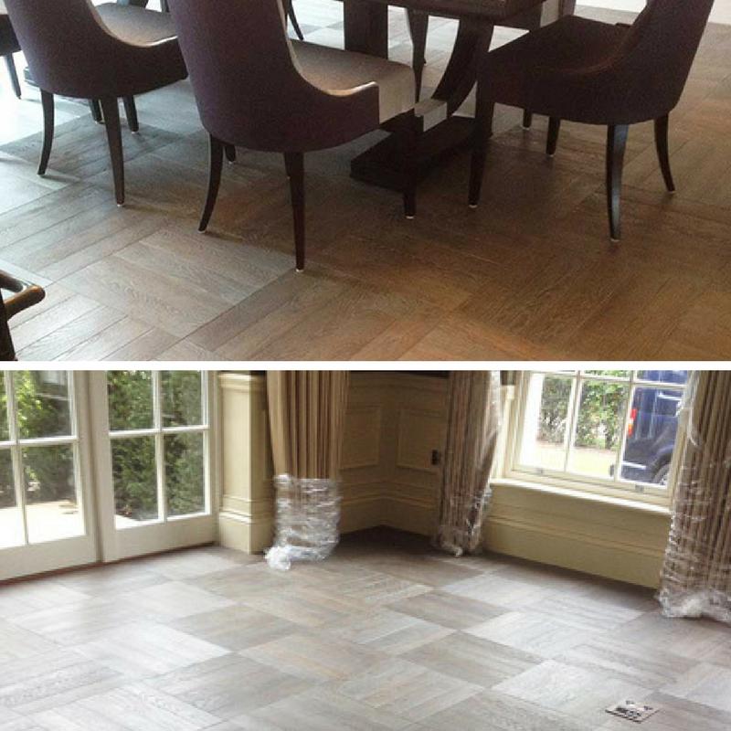 Sanding Sealing Wood Flooring In North London Residence Oak