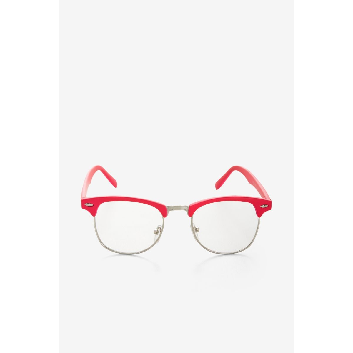 ec06478538c BCBGMAXAZRIA - SHOP BY CATEGORY  ACCESSORIES  VIEW ALL  BCBGENERATION  PINK-RIM CLEAR GLASSES
