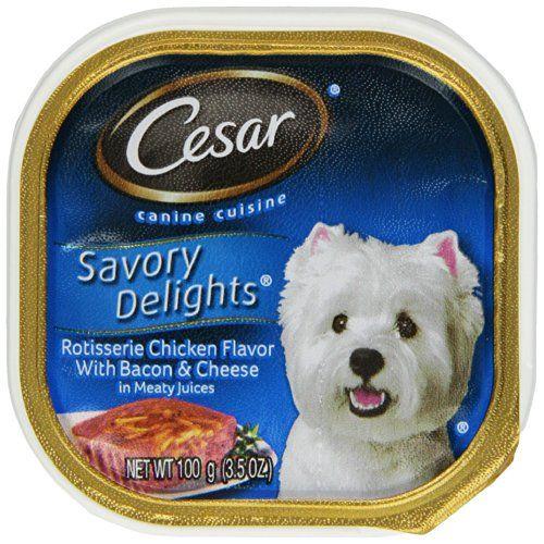 Cesar Savory Delights Canine Cuisine Rotisserie Chicken ...