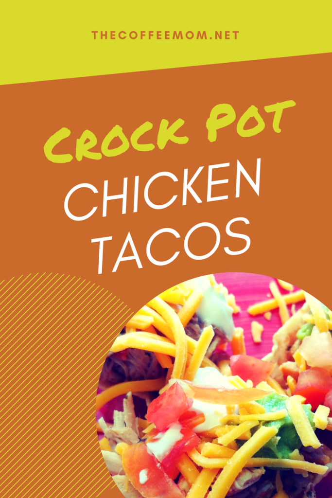 Crock Pot Mexican Chicken #mexicanchickentacos