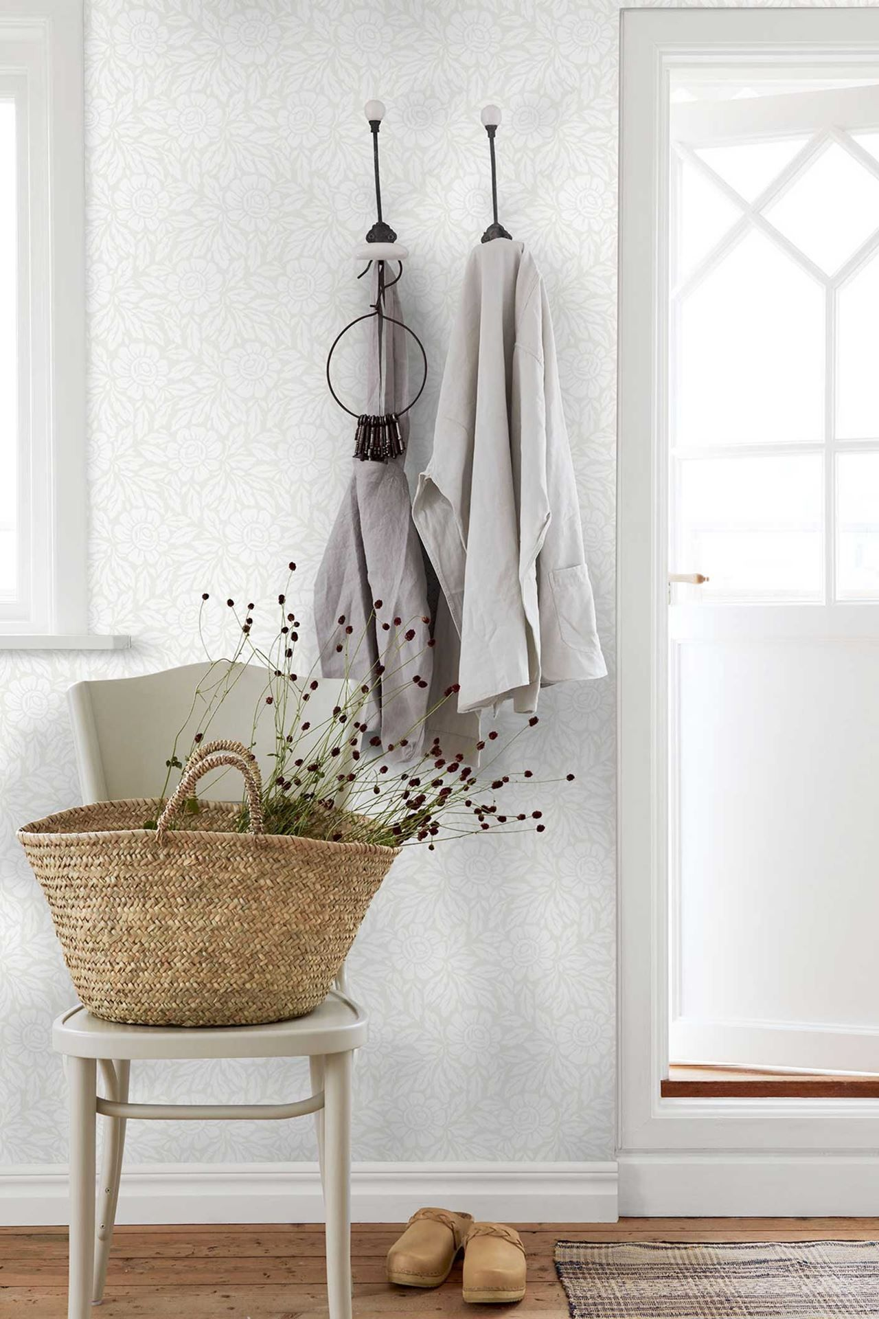 Jennyscandinavian design wallpaper bers from collection by borastapeter and eco hallway also rh pinterest