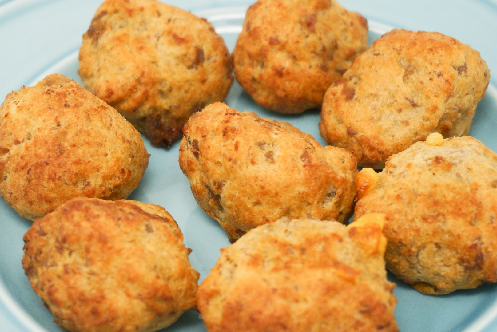 Air Fryer Sausage Balls Recipe in 2020 Sausage balls
