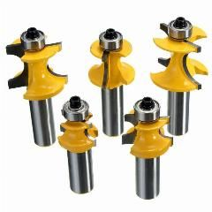 24 Off 5pcs Drill Bits 1 2 Inch Shank Router Bit Set Metal Wood Cutter Tool Dia 3 8 5 16 1 4 3 16 1 8 Dia Rail And Router Bit Set Wood Cutter Router Bits