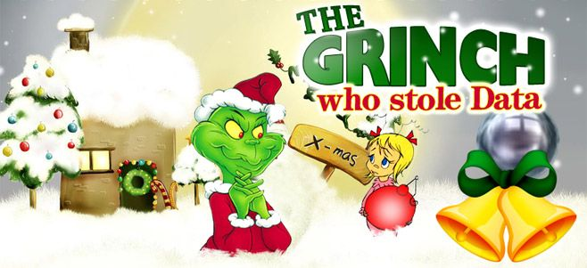 Data Theft The Grinch\u0027s New Favorite Activity How the Grinch