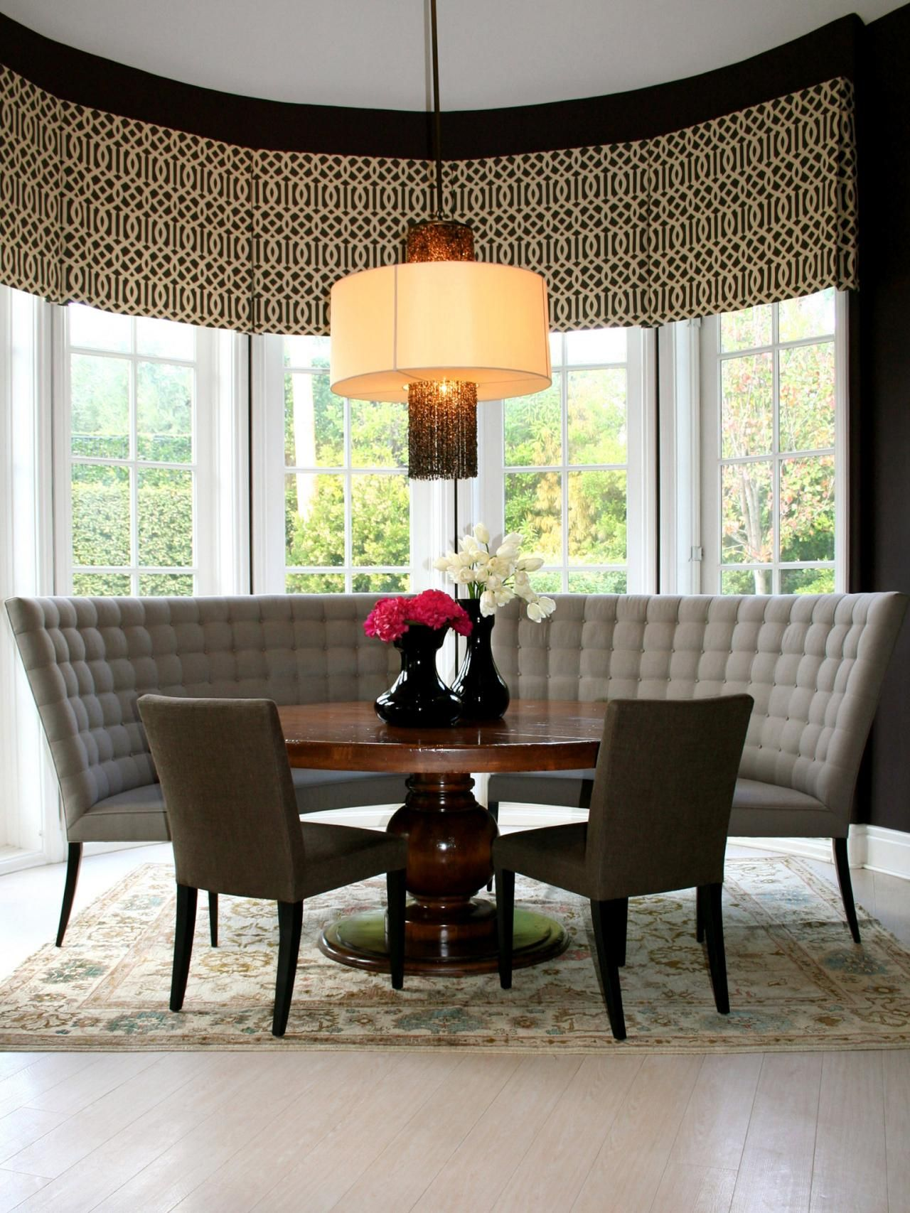 Charming Breakfast Nook With Settee Settee Dining Dining Room Bench Elegant Living Room