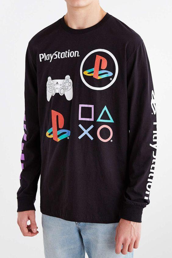 playstation 4 shirt