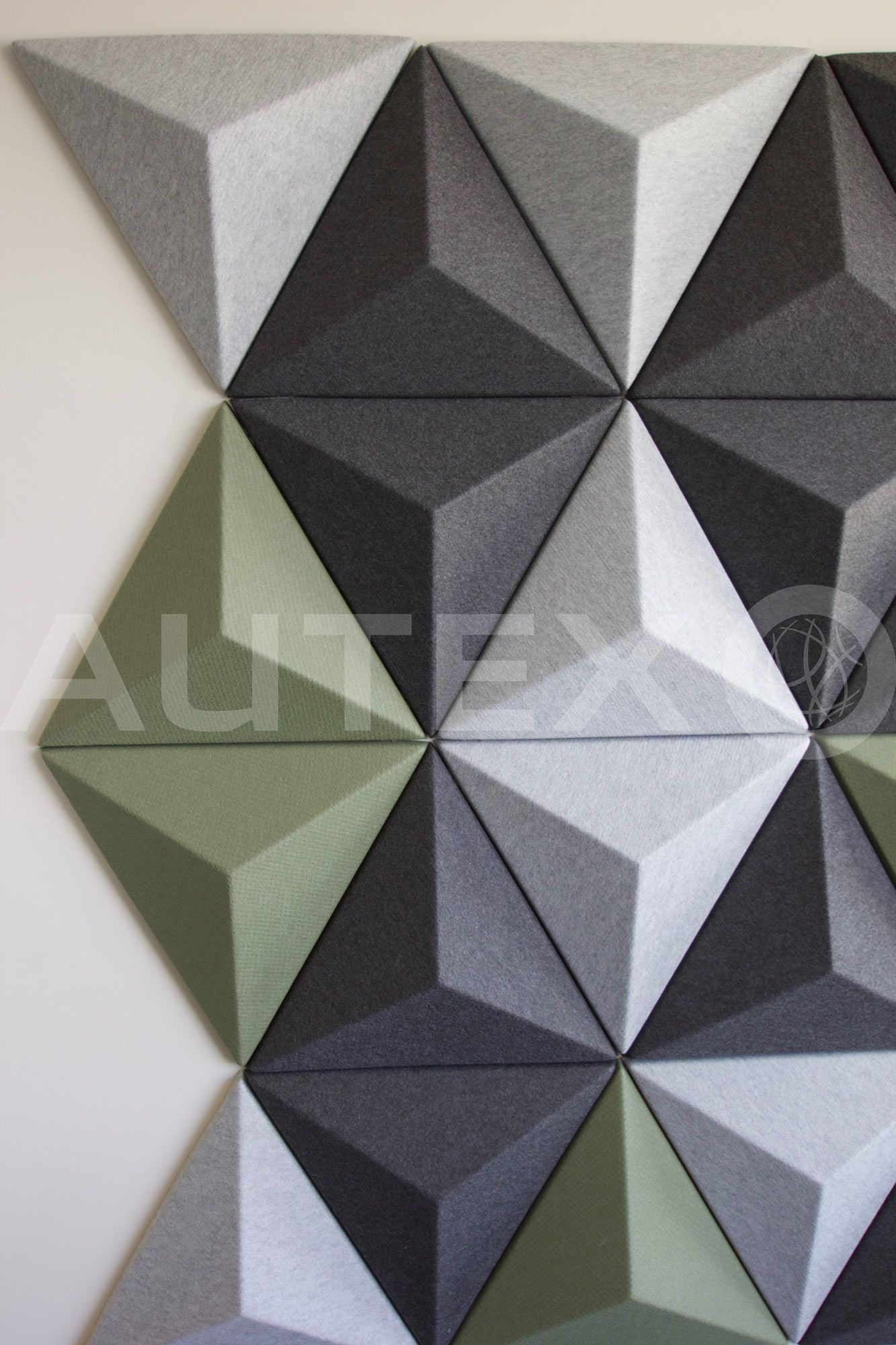 Autex Interior Acoustics - Quietspace® 3D Tiles - Autex Head Office