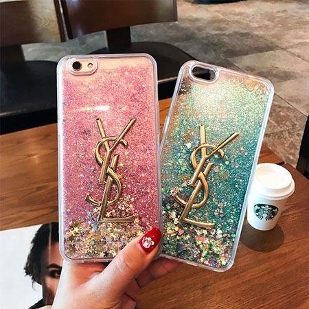 562168df4e 流れ砂の設計で、贅沢で可愛いイヴサンローラン iPhoneケースです。