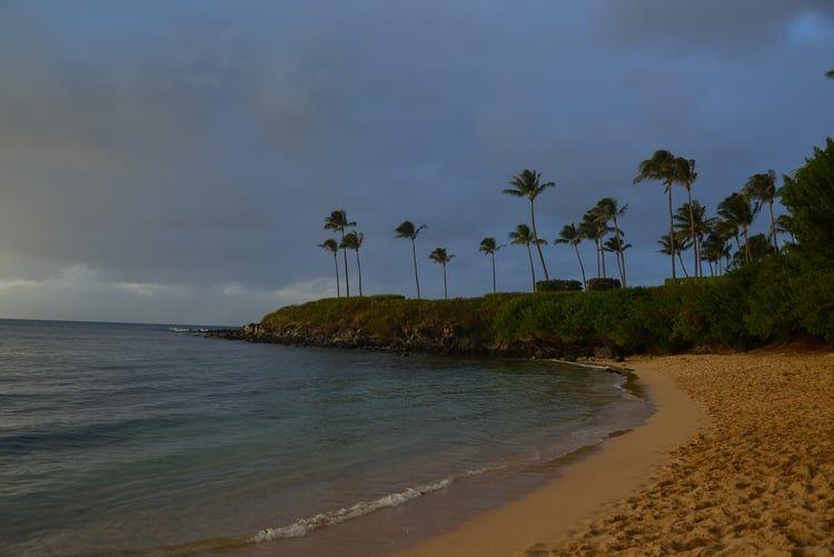 Kapalua Bay Beach Maui Hawaii Stunning Sunset Wedding