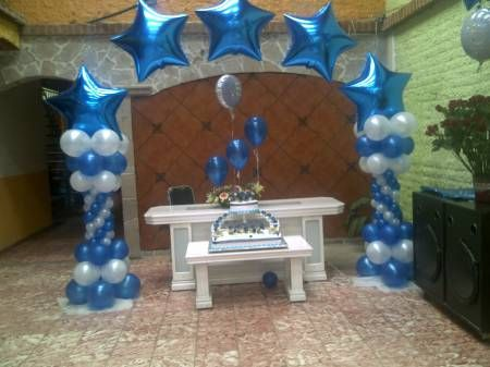 Star Theme Balloons For Quinceanera Quinceanera Pinterest