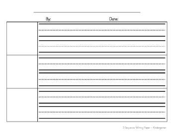 writing paper elementary
