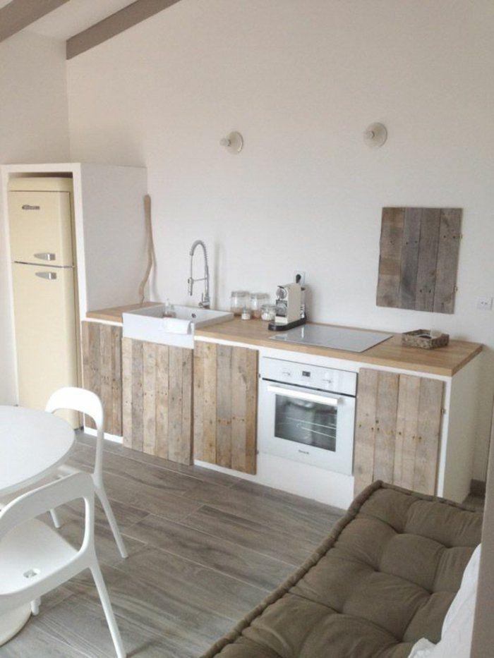 Comment aménager une petite cuisine? Idées en photos! Meubles en - Renovation Meuble Cuisine En Chene