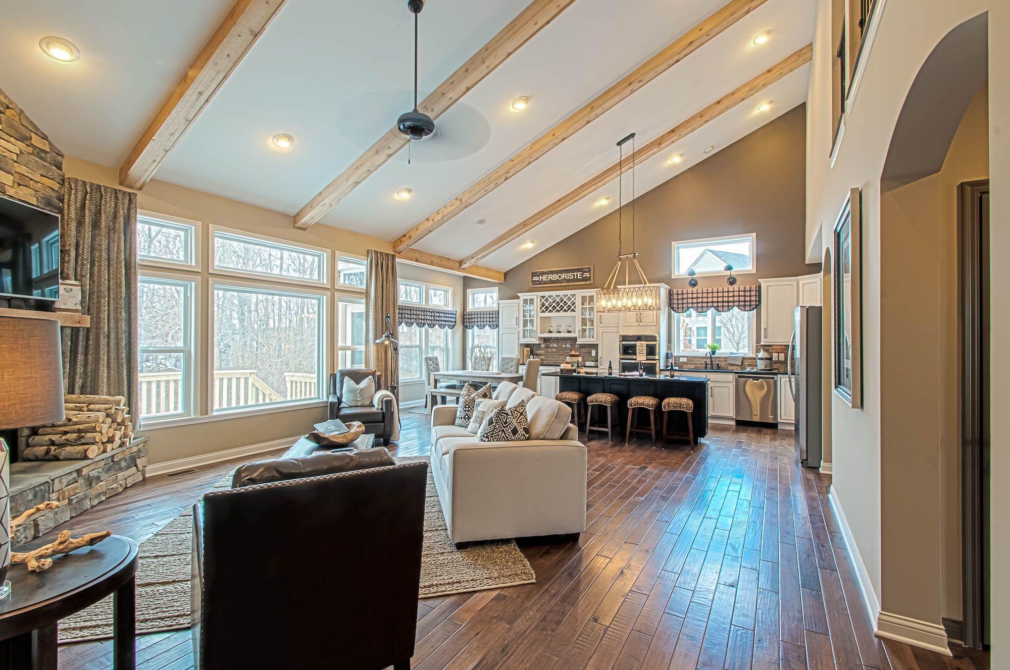 New Single Family Homes Cincinnati, OH Blake Vaulted