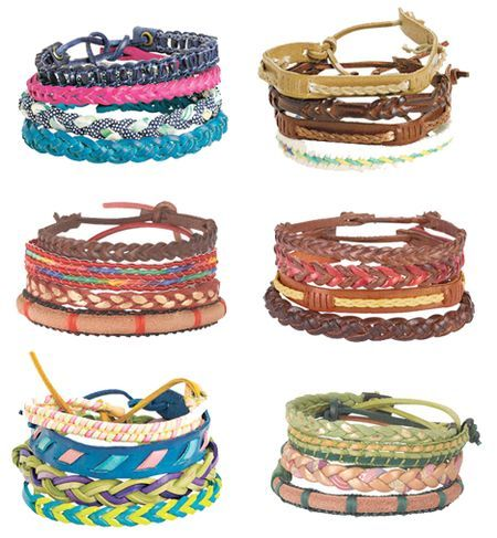stacking bracelets from Delia's. Remember them?