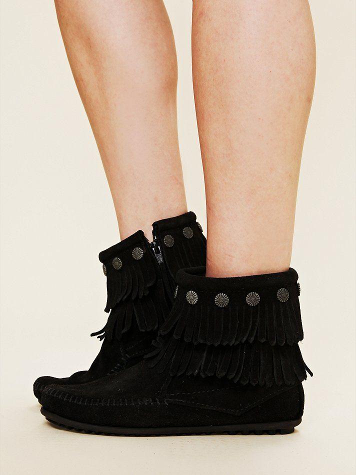 Free People Terra Fringe Ankle Boot, $58.00 omg--- <3