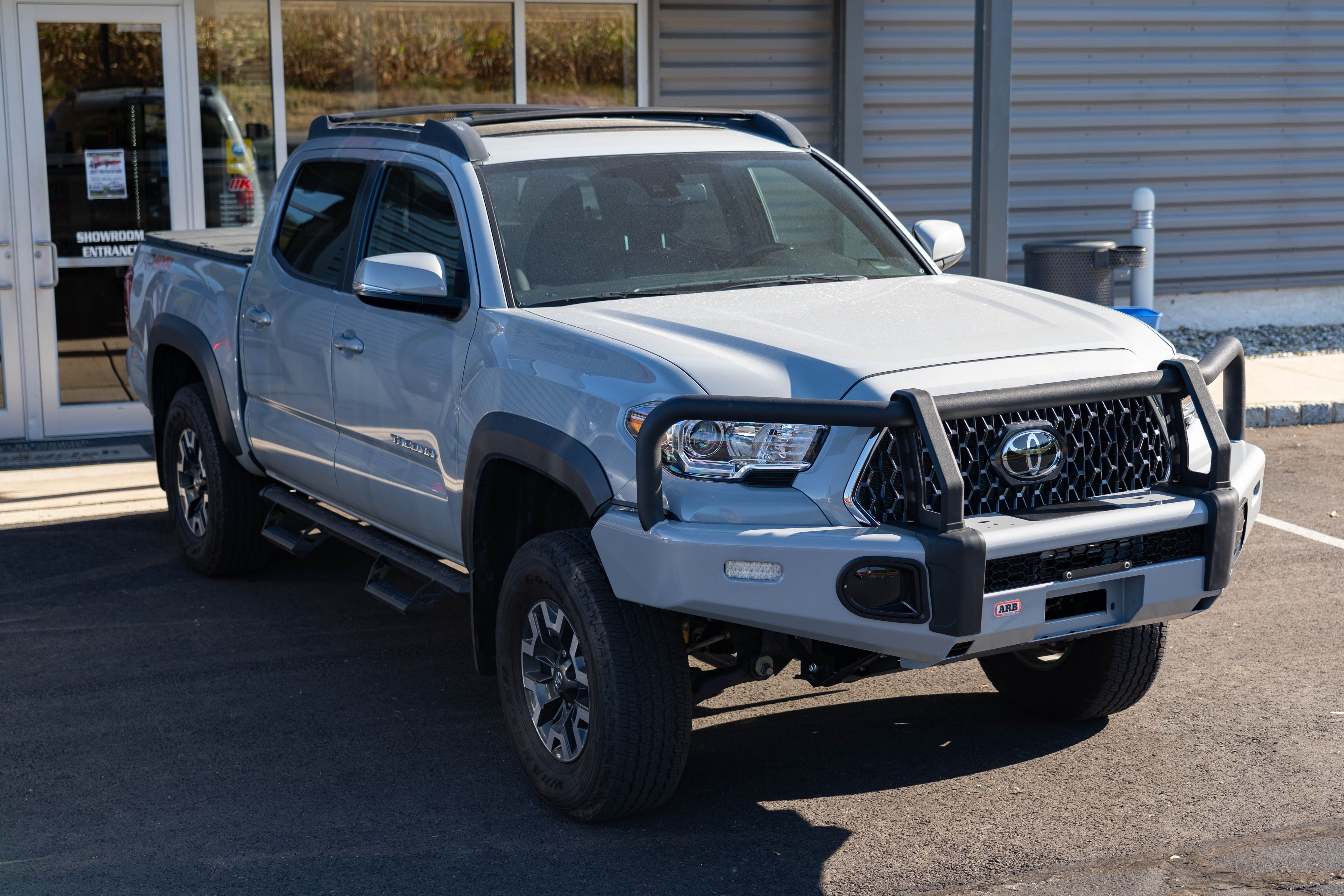 AM Left,Right Pair Bumper Bracket For Toyota Tacoma