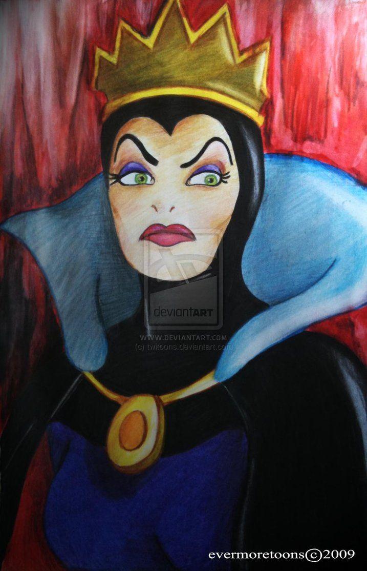 disney villians Evil Queen by ~twitoons on deviantART ...Disney Evil Queen Song