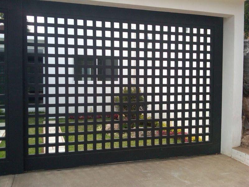 Fotos puertas puertas automaticas rejas pinterest - Puertas automaticas para cocheras ...
