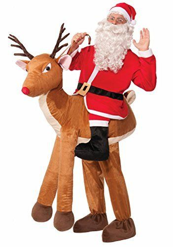 FESTIVE RUDOLPH REINDEER FANCY DRESS CHRISTMAS COSTUME