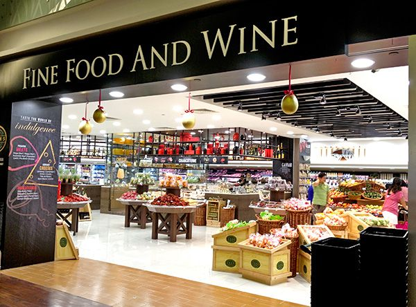 Jasons The Gourmet Grocer Ion Orchard Coffee Shops Interior Gourmet Wine Recipes
