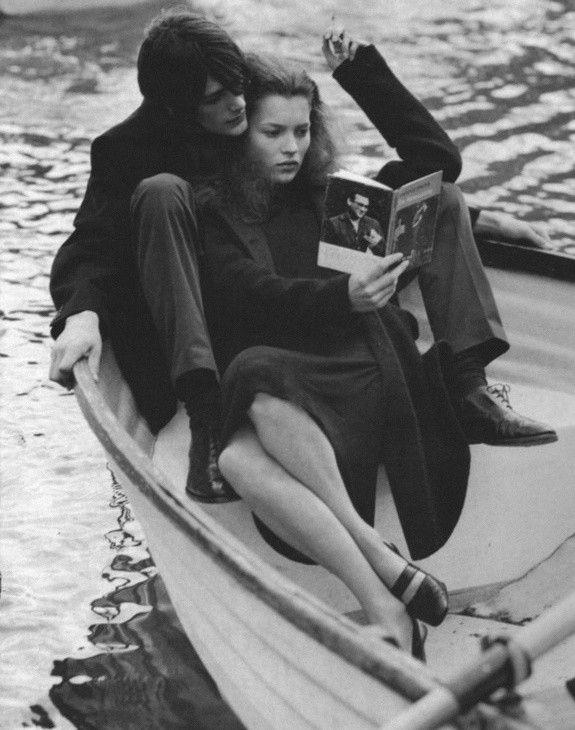 Kate Moss by Bruce Weber - 1996