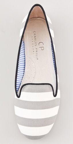 St. Tropez Striped Flats | Shoes, Me too shoes, Cute shoes