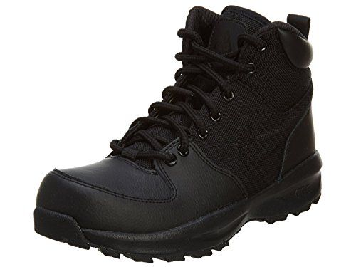 brand new 97b1f 35990 Boys Nike Manoa Leather Textile GS Hiking Shoe Black Size 65 M US   To view  further for this item, visit the image link.(This is an Amazon affiliate  link ...