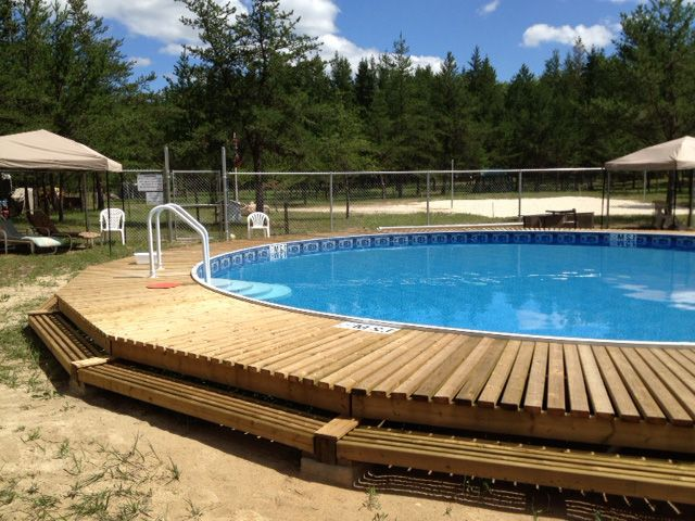 33 Round Radiant Pools Pool Patio Above Ground Pool Decks