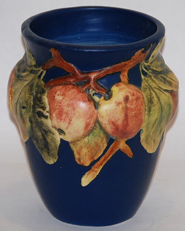 Weller Pottery Baldin Blue Vase Vintage Pottery Ceramics