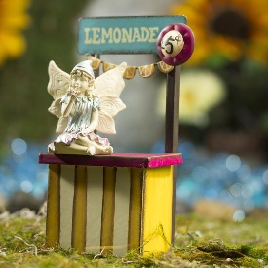 Miniature Lemonade Stand Factorydirectcraft Fairygarden Fairy