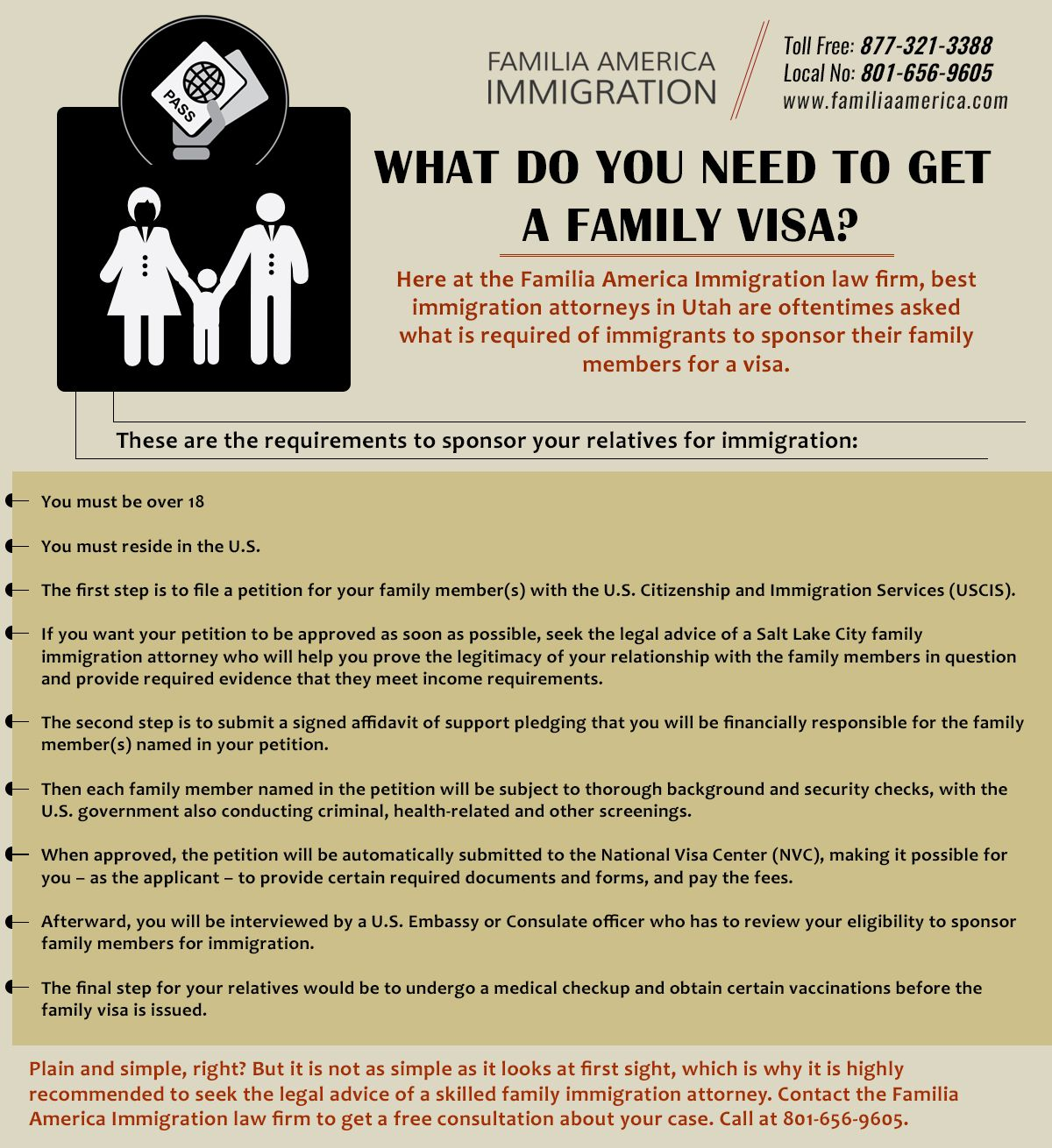 Family Immigration Attorney Salt Lake City City family