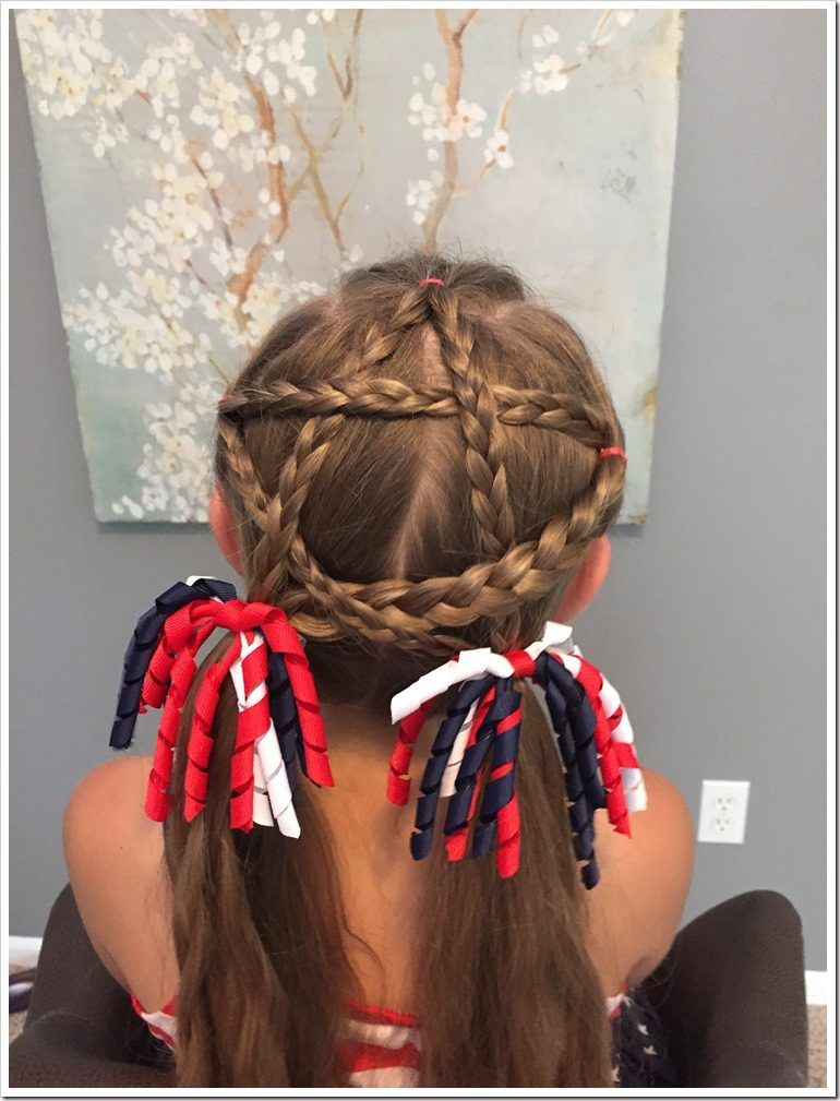 Christmas Hairstyles For Girls.20 Easy Christmas Hairstyles For Little Girls Hairstyle