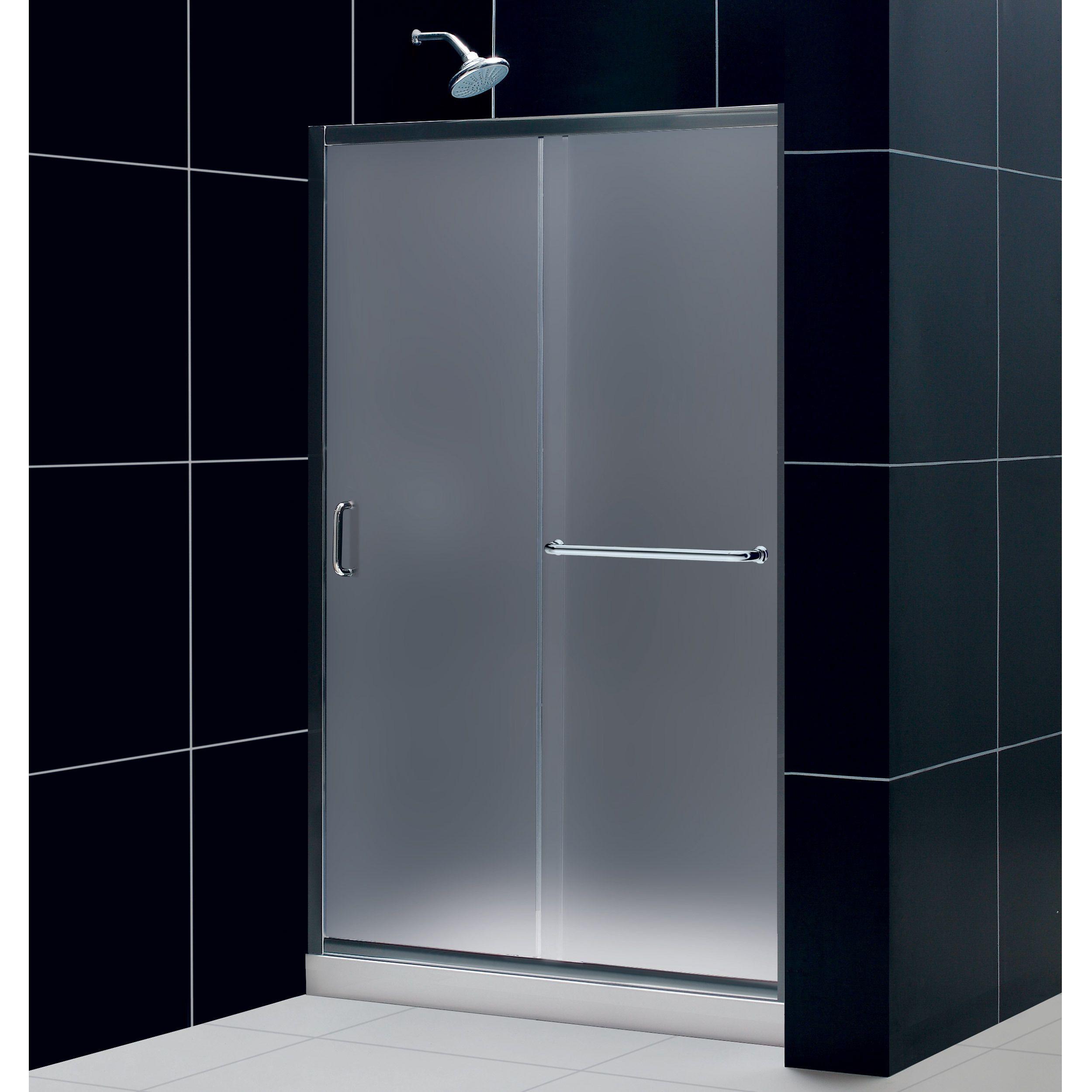 Dreamline Infinity Z Frameless Sliding Shower Door 36 X 48 Inch