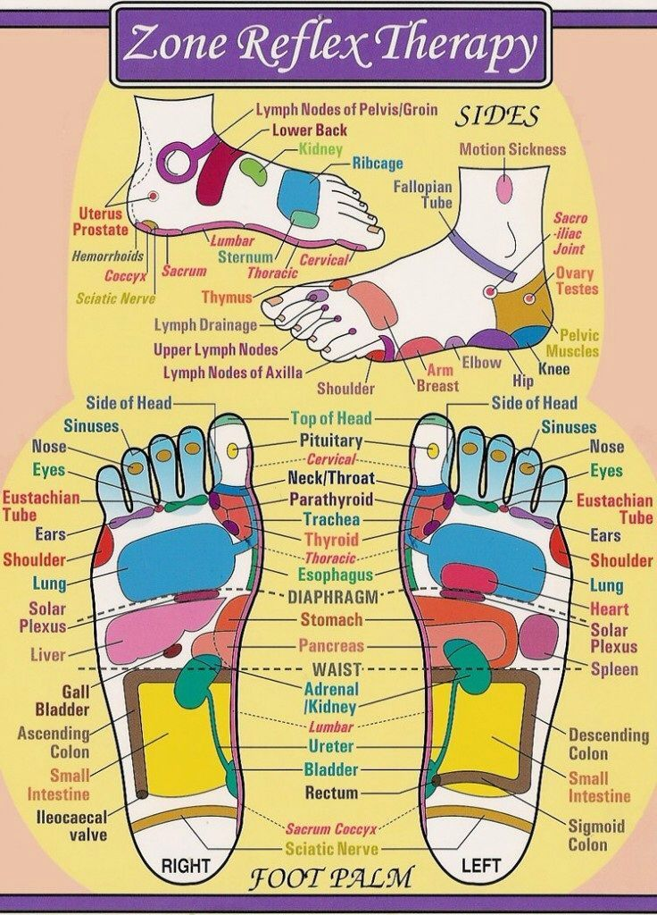 Foot reflexology chart essential oils  aromatherapy more also rh pinterest