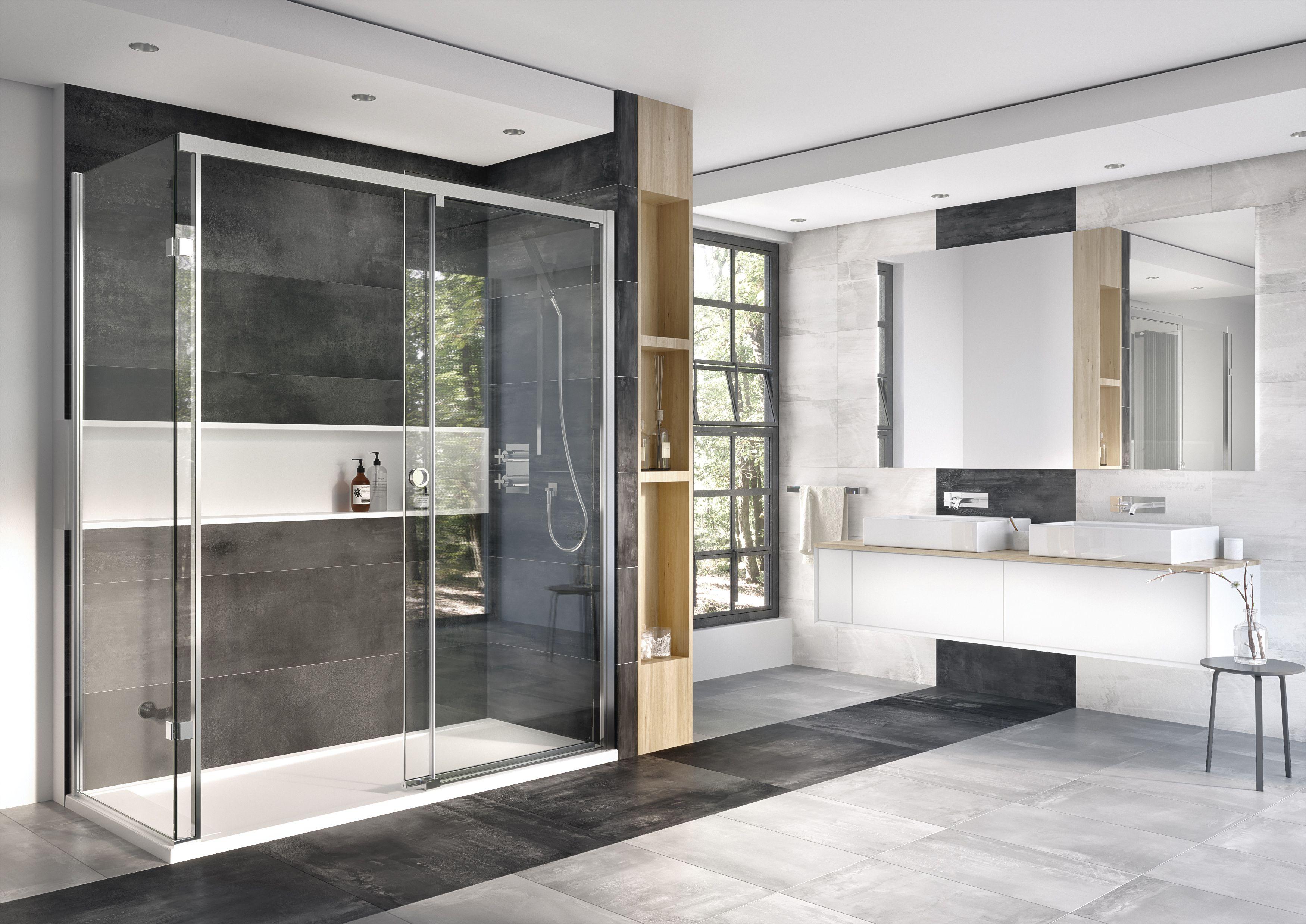 10mm Level Access Sliding Door Shower Enclosure