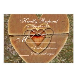 Rustic Themed Wedding Invitations Hunting Theme 90 Announcements Invites