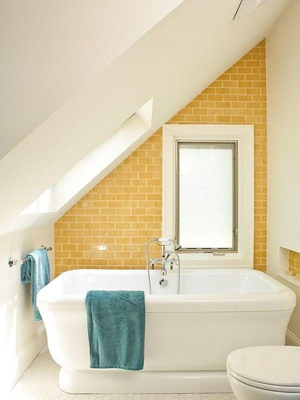 Images Photos  Beautiful Bathroom Attic Design Ideas u Pictures